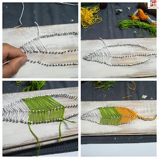 tecnica string art