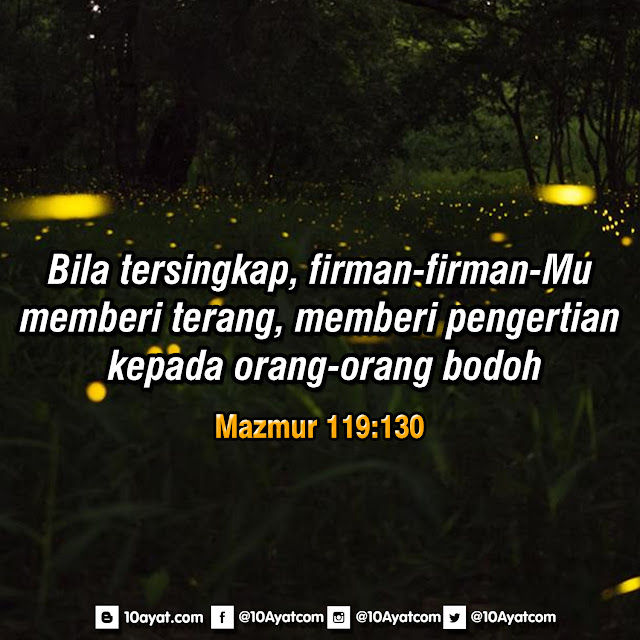 Mazmur 119:130