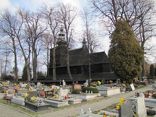 Kościół św. Barbary w Mikuszowicach.