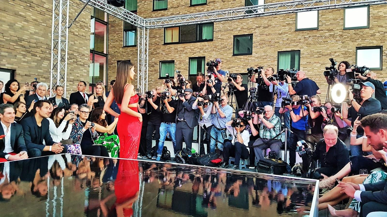buy online d9a75 b11df Die Medienreporter: Fashion Week 2018 Lascana Show im nhow Hotel