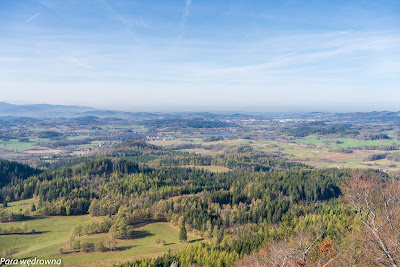 Kotlina Jeleniogórska z Krzyżnej Góry