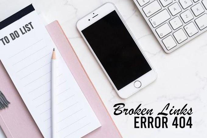 Buang Broken Links dalam Blog.. Settle!