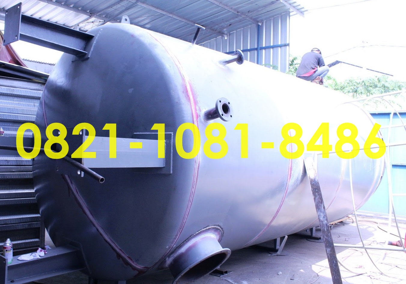 Jasa Fabrikasi Storage Tank Di Indonesia Roll New Supra X 125 Fi Cast Wheel Energetic Red Kota Semarang