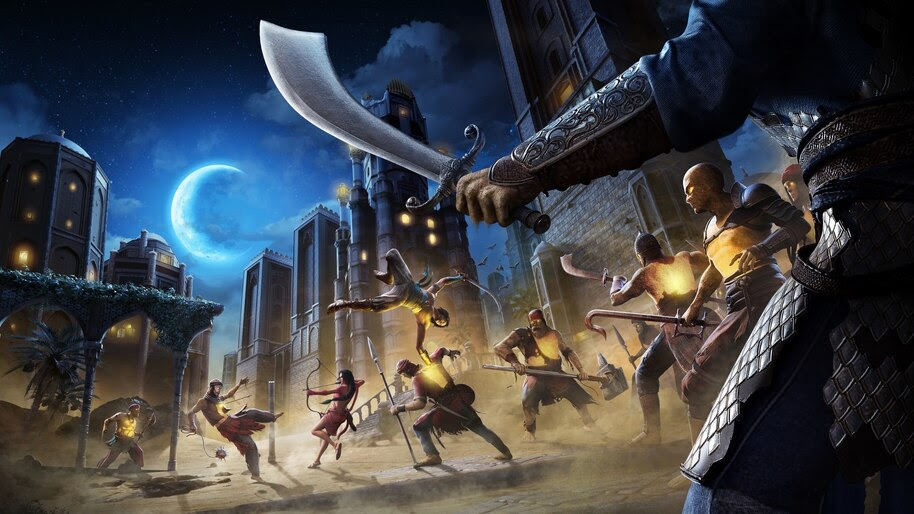 Prince of Persia The Sands of Time Remake, Battle, 4K, #7.2716