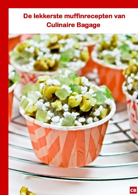 E-book De lekkerste muffinrecepten van Culinaire Bagage