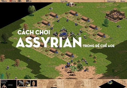 Assyrian từng là một trong những Age of Empires vô cùng thiện chiến