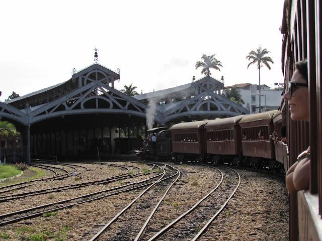 Trem Maria Fumaça São João Del Rei - MG