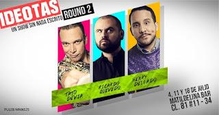 IDEOTAS ROUND2 | Tato Devia, Ricardo Quevedo y Henry Delgado