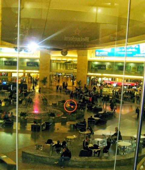 Lotnisko Ben Guriona pod Tel Awiwem (Izrael)