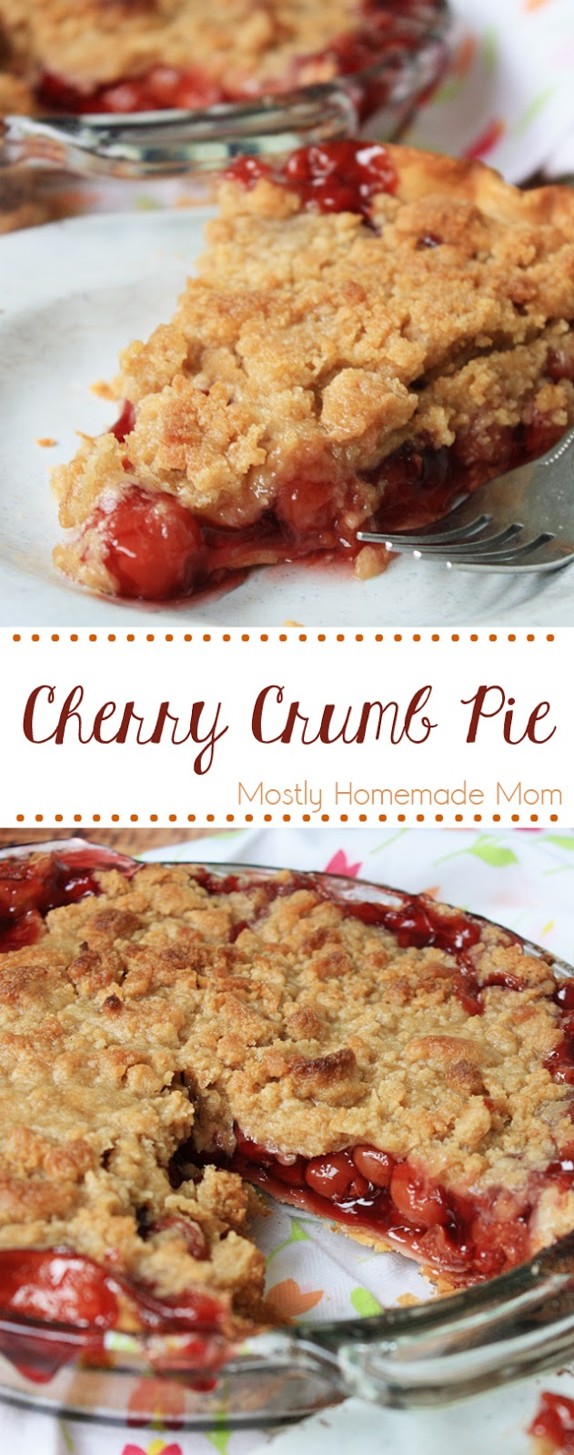 cherry pie crumb topping