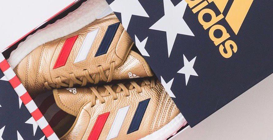 new york 7d50e 0ffab Ronnie Fieg, founder of Kith, took to his social channels today to give us  a first look at the next Adidas x Kith football collection.