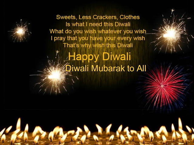 Diwali Mubarak Sms, Messages, Images, Wishes in English