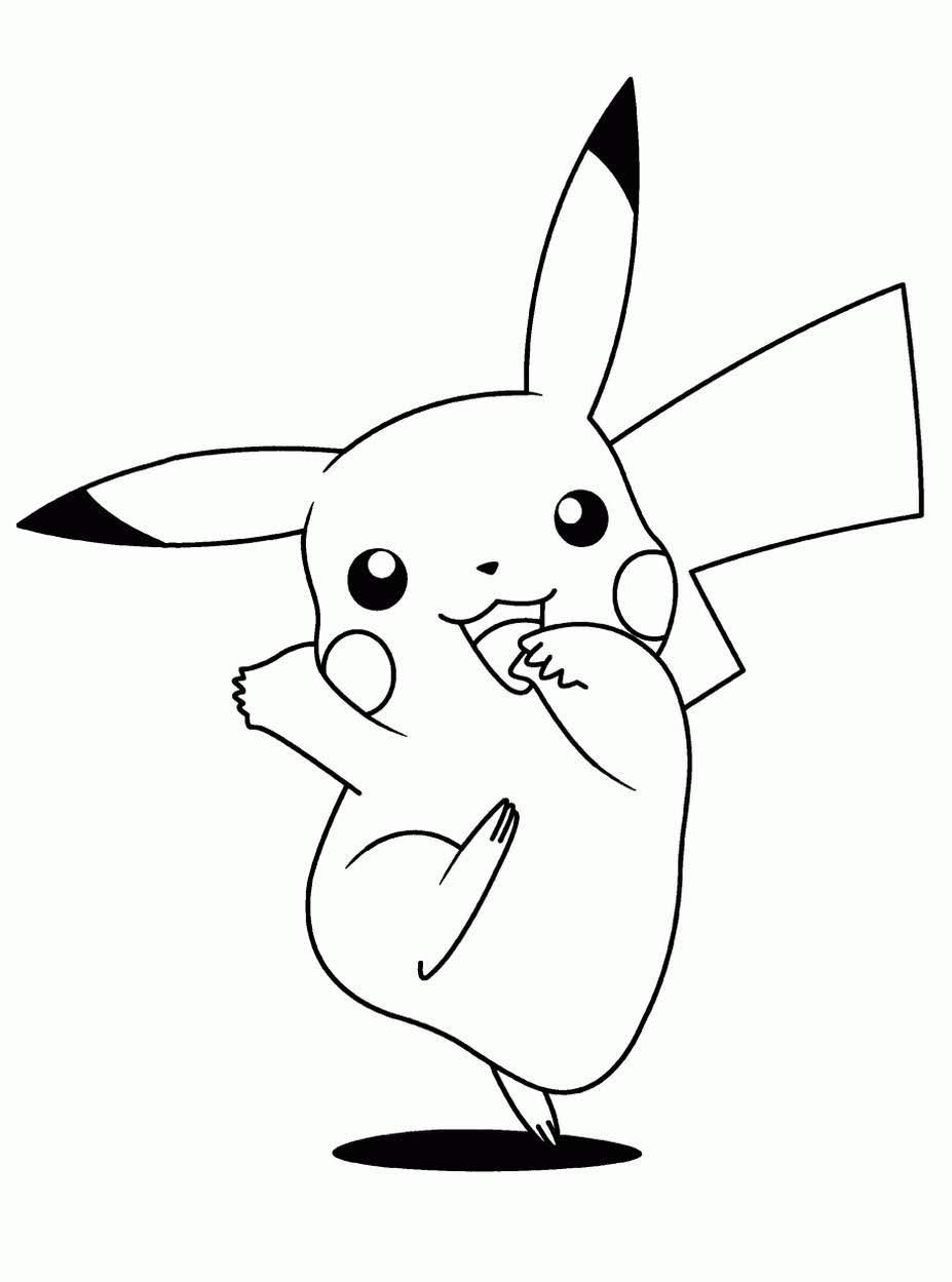 anime pokemon pikachu coloring books inspiration drawings