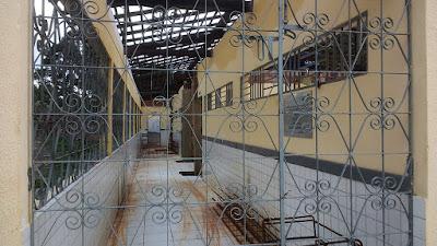 Escola 'modelo' de Flávio Dino sendo reformada após desabamento