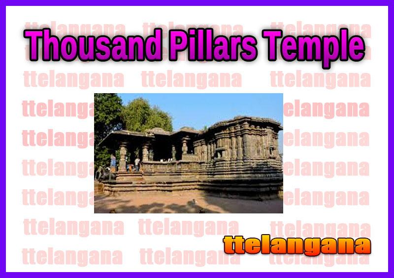 Thousand Pillars Temple in Telangana Warangal