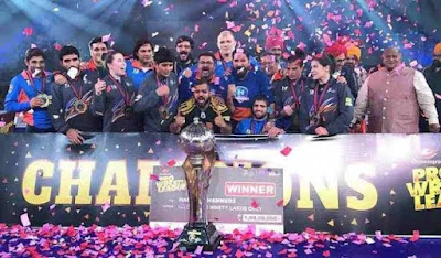 Haryana Hammers defeated Punjab Royals to win PWL 4 title