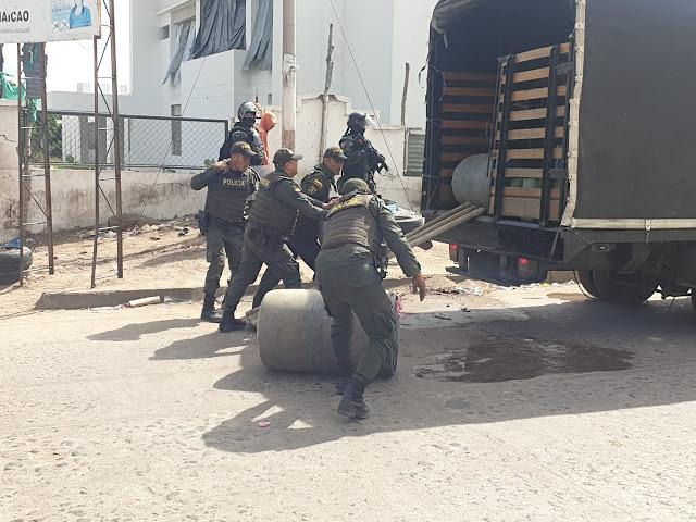 Seis capturados y 650 galones de gasolina de contrabando incautados en Maicao
