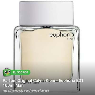 toko parfum asli parfum original calvin klein euphoria edt 100ml man