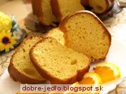 Pomarančová bábovka - recept