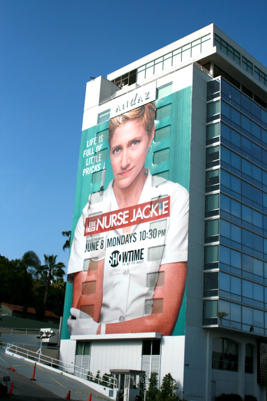 Giant Nurse Jackie season 1 billboard