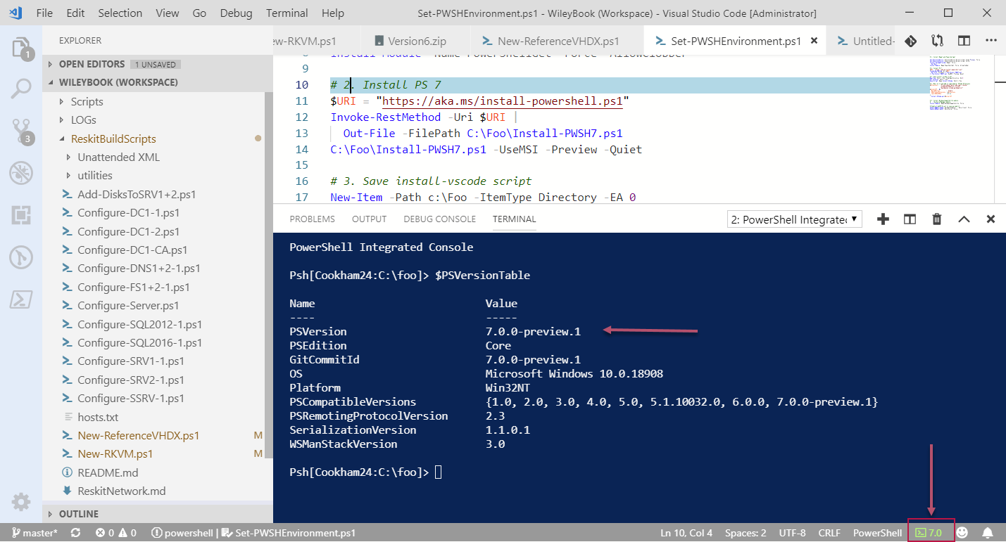 Under The Stairs: PowerShell 7 Is Here - Getting Started