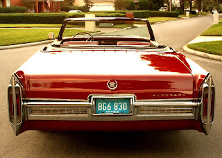 1966 Cadillac Eldorado Coupe Convertible Rear