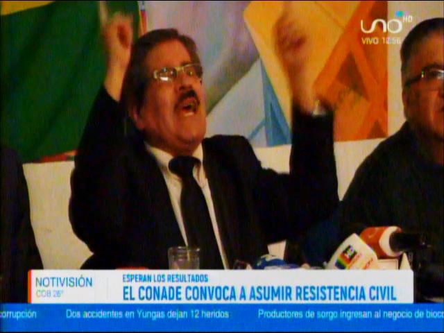 """Waldo Albarracín: """"Una GUERRA CIVIL en Bolivia sería responsabilidad del Gobierno de Evo Morales"""""""