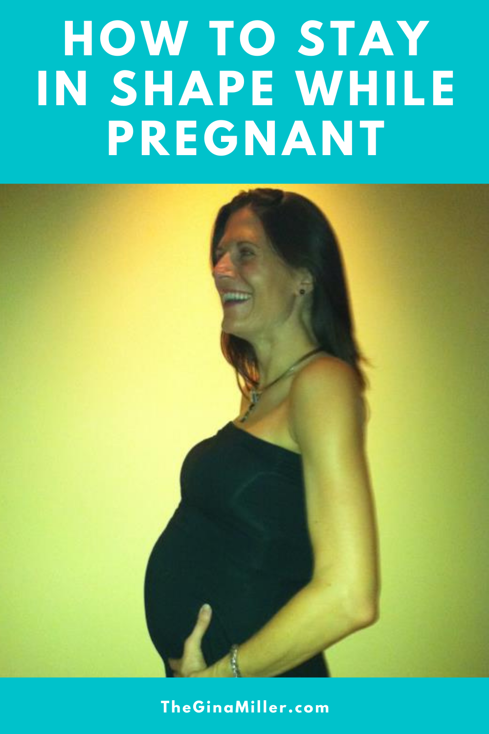 how to get in shape while pregnant