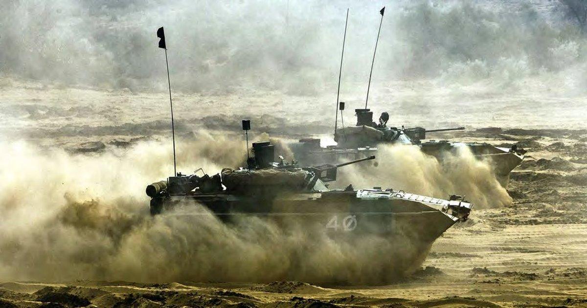 BMP-II - Infantry Combat Vehicle - ICV - Indian Army - 01