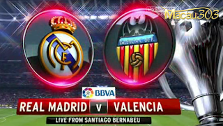 Prediksi Judi Bola Real Madrid vs Valencia 29 April 2017