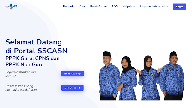 Cara Terbaru Daftar Sscasn.Bkn.Go.Id di Saat Situs Lemot atau Error Tidak Bisa Diakses