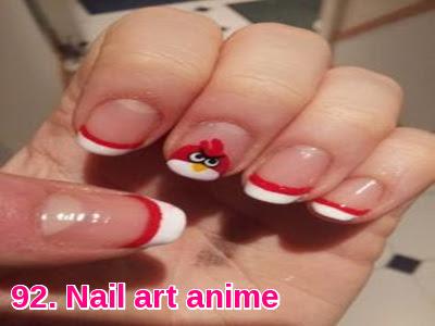 Nail art anime