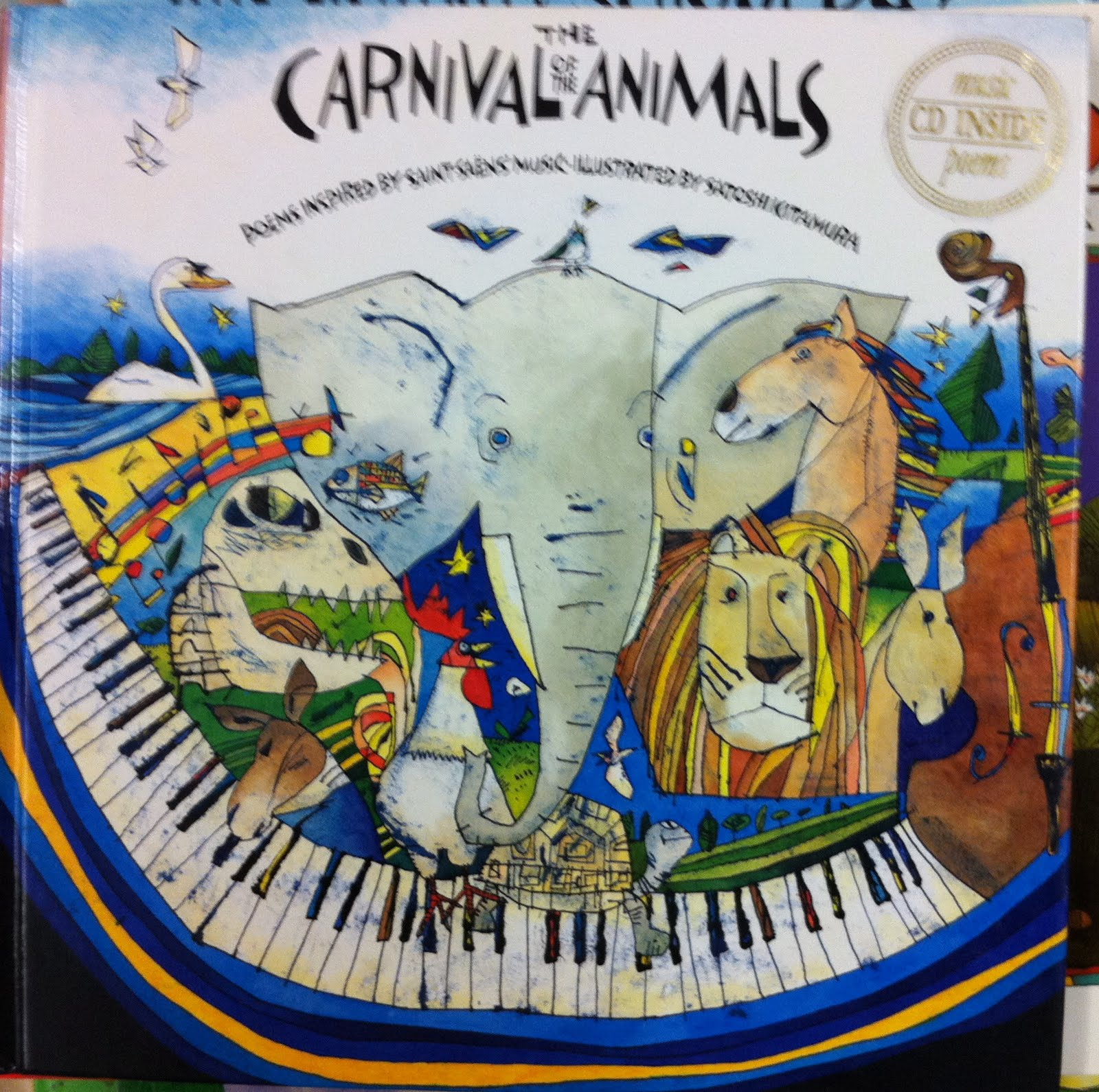 Picturebooks Everyday The Carnival Of The Animals