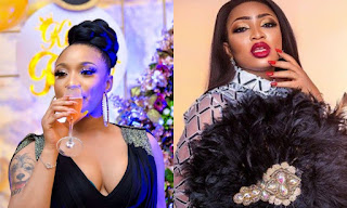 Tonto Dikeh laughs off being given financial aid by Blessing Osom