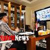 Gubernur dan Wakil Gubernur Sulsel, Gelar Halal Bihalal Secara Virtual Dengan Jajaran Forkopimda