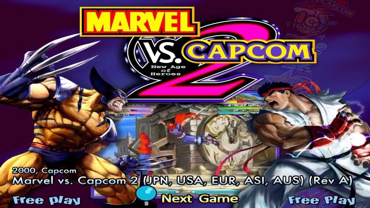 Marvel vs. Capcom 2 New Age of Heroes Rom