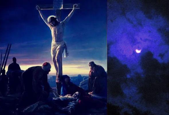 Oscuridad durante la crucifixión de Jesús
