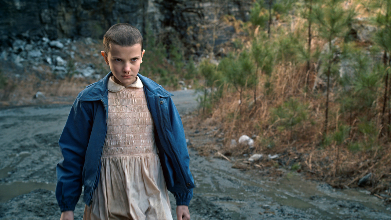 Fotografía de Millie Bobby Brown en 'Stranger Things'