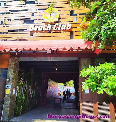 pintu masuk Sun Osing Beach