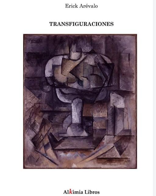 Portada de Transfiguraciones de Erick Rafael Arévalo
