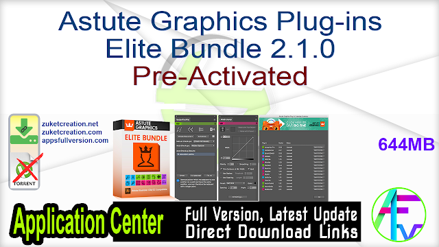 Astute Graphics Plug-ins Elite Bundle 2.1.0 Pre-Activated