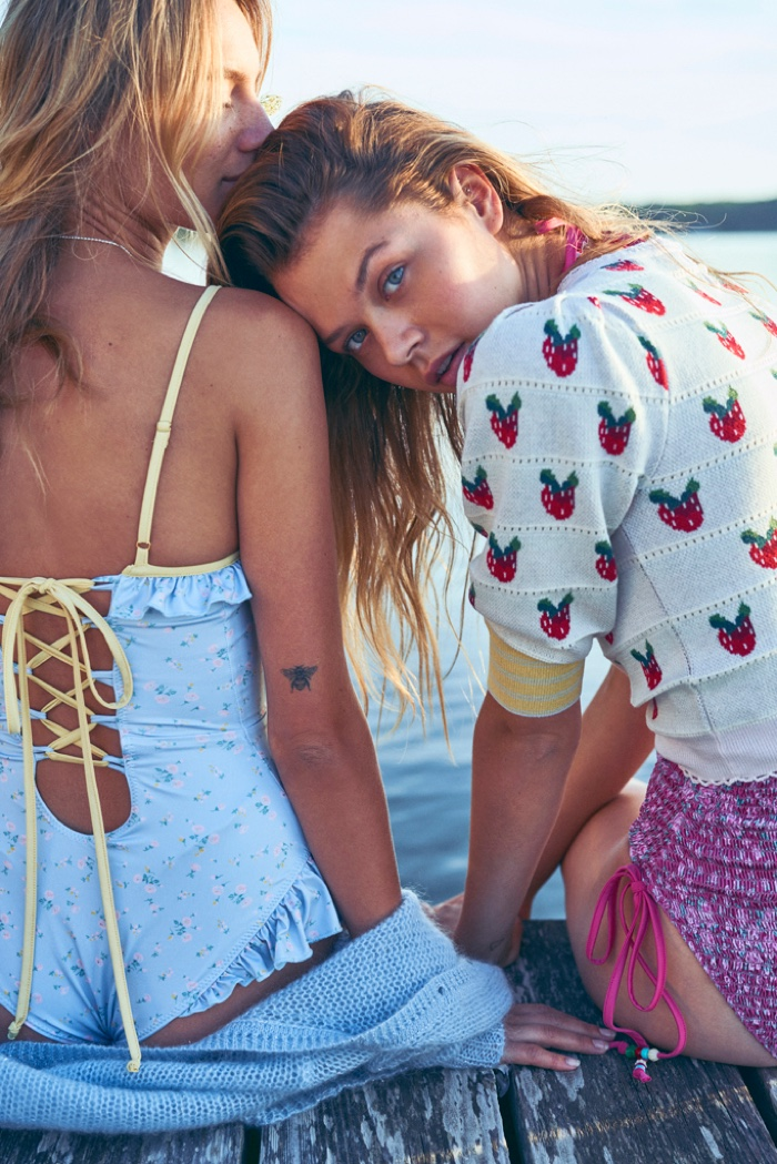 LoveShackFancy Spring 2020 Campaign by Dean Isidro
