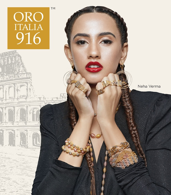 HABIB Oro Italia 916, HABIB, Habib Jewels, Neha Verma, Miss Habib, 3rd Runner Up Miss Universe Malaysia 2020, Habib Campaign Ambassador, Fashion