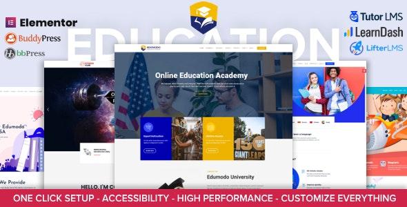 Edumodo [v4.1.1] Education WordPress Theme Nulled, Free Download