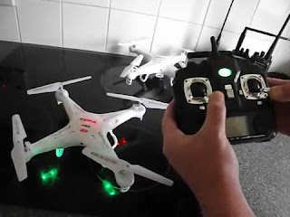 Cara Reset dan Kalibrasi Drone Syma X5C - GudangDrone