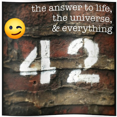 42 - The answer to life,the universe and everything