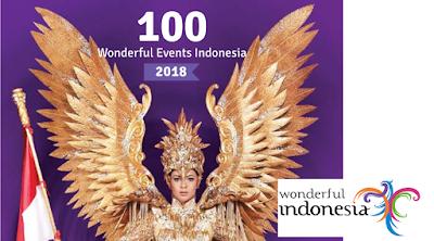 Kalender 100 Kegiatan Wisata Wonderful Indonesia
