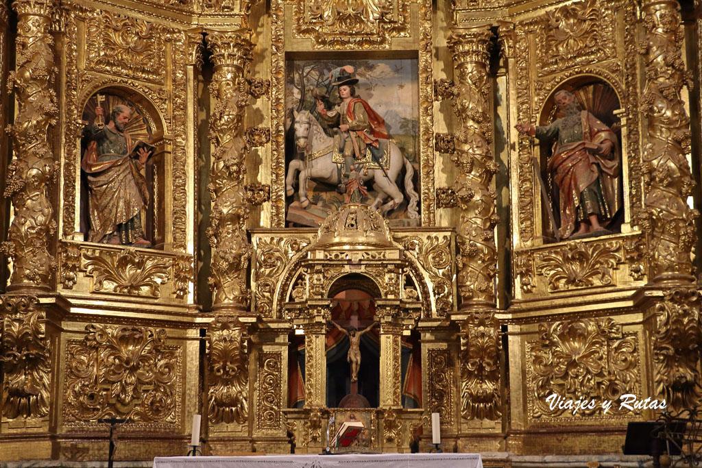 Retablo mayor de San Hipólito el Real de Támara de Campos