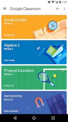 google classroom di hp