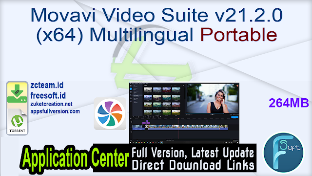Movavi Video Suite v21.2.0 (x64) Multilingual Portable